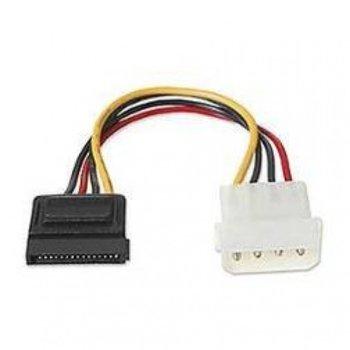 Захранващ кабел 08041101, от Molex(м) към SATA(ж), 0.2m image