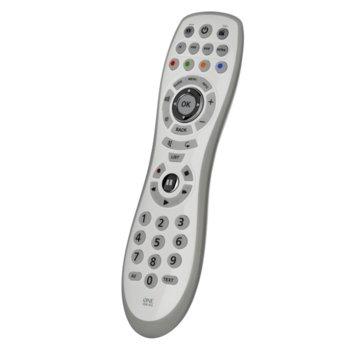 Дистанционно One For All Easy and Robusto 4 URC6440, универсално, контролира до 4 устройства, IR обхват 15 метра, брой бутони 45, 2 x AAA, 120g image