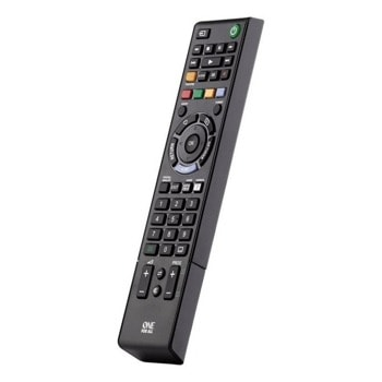 Дистанционно One For All URC1912, съвместимо с всички Sony телевизори, IR честота: 0 - 455 kHz, IR обхват: ~ 15 m., Learning функция, черно image