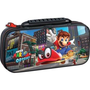 Калъф Big Ben Interactive Travel Case Mario Odyssey, за Nintendo Switch, черен image