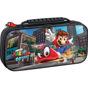 Калъф Big Ben Interactive Travel Case Mario Odyssey, за Nintendo Switch, черен image