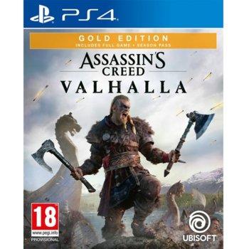 Игра за конзола Assassin's Creed Valhalla – Gold Edition, за PS4 image