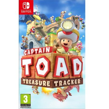 Игра за конзола Captain Toad: Treasure Tracker, за Switch image