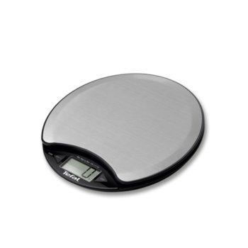 Кухненски кантар Tefal BC1500V0, дигитален, до 5 кг., aвтоматично изключване, функция измерване на течности, сив image