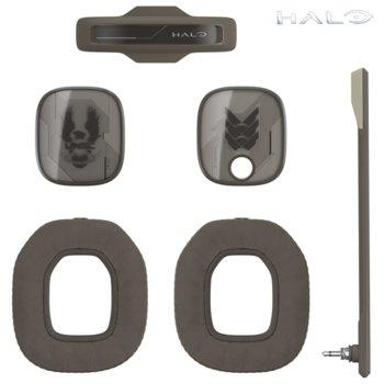 Аксесоари за слушалки Astro A40 TR Halo Mod Kit (939-001547), включва звукоизолиращ микрофон / подплатена лента за глава / шумоизолиращи възглавици / силиконови прегради, сиви image