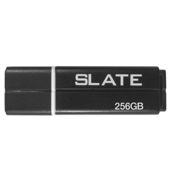 Памет 256GB USB Flash Drive, Patriot Slate (PSF256GLSS3USB), USB 3.0, черна image