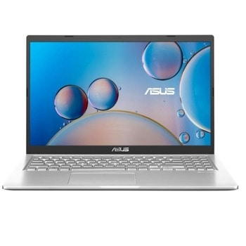 "Лаптоп Asus X515MA-WBC01T (90NB0TH2-M03210)(сребрист), двуядрен Gemini Lake Refresh Intel Celeron N4020 1.1/2.8 GHz, 15.6"" (39.62 cm) Full HD IPS Anti-Glare Display, (HDMI), 4GB DDR4, 256GB SSD, 1x USB 3.1 Type-C, Windows 10 Home image"