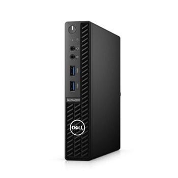 Настолен компютър Dell OptiPlex 3080 MFF (N212O3080MFF), четиядрен Comet Lake Intel Core i3-10105T 3.0/3.9 GHz, 8GB DDR4, 256GB SSD, 4x USB 3.2, Windows 10 Pro image