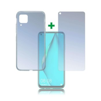 Протектор от закалено стъкло /Tempered Glass/, 4smarts, за Huawei P40 Lite, силиконов (TPU) кейс image