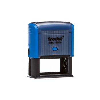 Автоматичен печат Trodat 4927 син, 60/40 mm, правоъгълен image