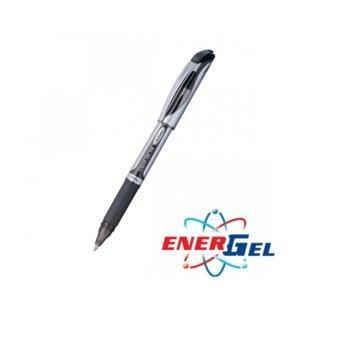Ролер Pentel Energel BL57, син цвят на писане, дебелина на линията 0.7 mm, гел, черен, цената е за 1бр. (продава се в опаковка от 12бр.) image