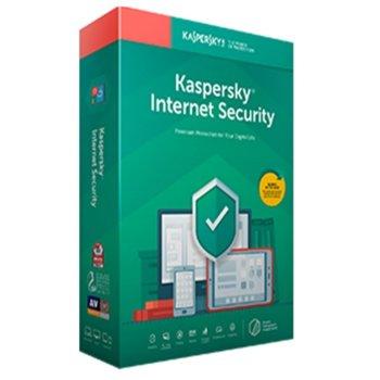 Софтуер Kaspersky Internet Security Eastern Europe Edition Base Box, лиценз за 1 година, 3 потребителя, Windows/macOS/Android/iOS image