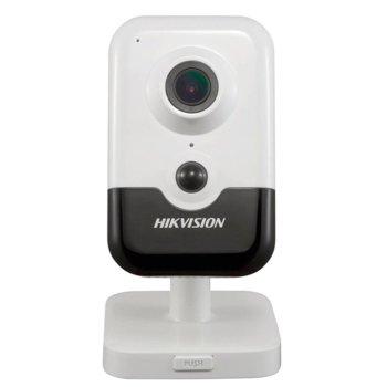 IP камера Hikvision DS-2CD2421G0-IW, стационарна, 2MP (1920x1080@30fps), H.265+/H.265/H.264+/H.264/MJPEG, IR осветленост (до 10м), вътрешна, 1x Lan100, microSD слот image