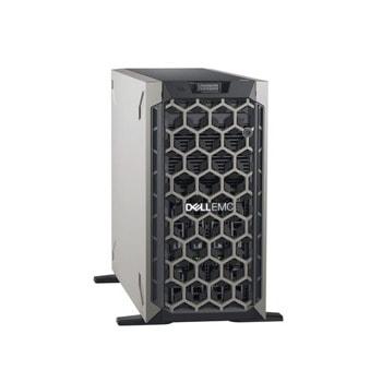 Сървър Dell PowerEdge T440 (PET440CEE02VSP), осемядрен Cascade Lake Intel Xeon 4208 2.1/3.2 GHz, 16GB DDR4 RDIMM, 1x 600GB HDD, 2x 1GbE, No OS, 2x 495W PSU image