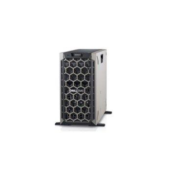 Сървър Dell PowerEdge T440 (PET440CEE02), осемядрен Skylake Intel Xeon Silver 4110 2.1/3.0 GHz, 16GB DDR4 Registered, 240GB SSD, 2x LOM, 4x USB 3.0, без OS, 750W  image