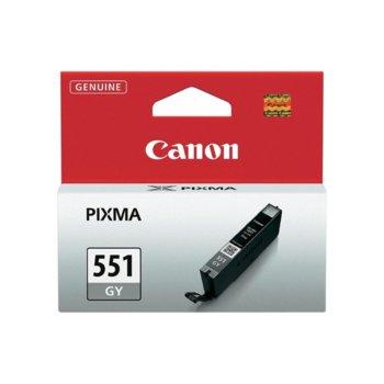 ГЛАВА CANON PIXMA IP 7250, PIXMA MG 5450, PIXMA MG 6350 - Grey ink tank - CLI-551GY - P№ 6512B001 - заб.: 780p image
