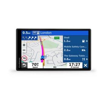 """Навигация за автомобил Garmin DriveSmart 65 MT-S EU, 6.95"""" (17.7cm) сензорен WSVGA дисплей, Wi-Fi, Bluetooth, карта на Европа, доживотно обновяване image"""
