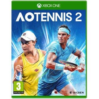 Игра за конзола AO Tennis 2, за Xbox One image