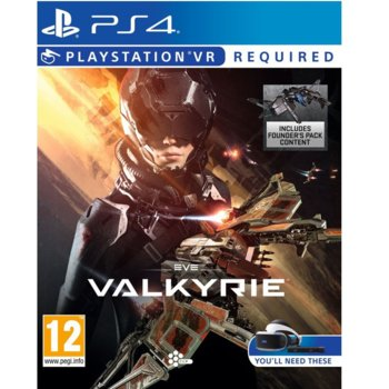 Игра за конзола EVE: Valkyrie - Founders Pack Edition VR, за PS4 image