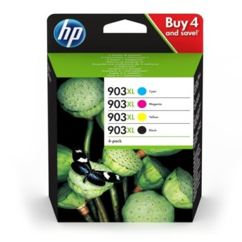 Глава за HP Officejet Pro 6960/6970, Black/Cyan/Magenta/Yellow, - 3HZ51AE - HP - Заб.: 825 к image