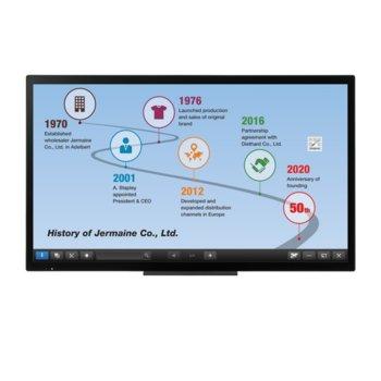 "Интерактивен дисплей Sharp PN50TC1, 79.5"" (201.93 cm), Full HD touchscreen дисплей, LAN, VGA, HDMI, DisplayPort, USB, RS232 image"