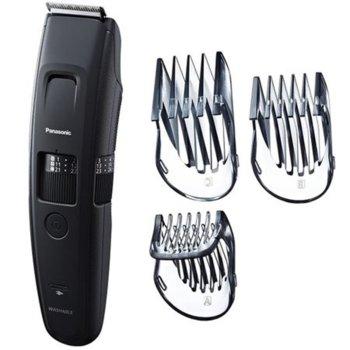 Тример Panasonic ER-GB86-K503, 3 приставки, миещ се, работа на батерия или включен към ел.жрежа, 58 нива на рязане, време за бръснене 50 минути, черен image