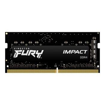 Памет 16GB DDR4 3200MHz, SO-DIMM, Kingston HyperX FURY Impact (KF432S20IB/16), 1.2V image