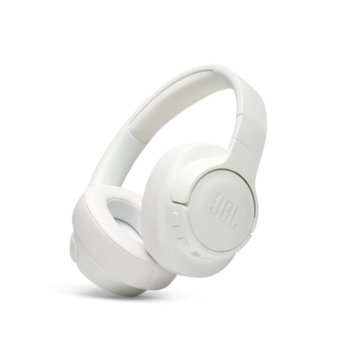 Слушалки JBL T750BT NC, безжични, Bluetooth, до 15 часа работа, бели image