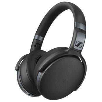 Слушалки Sennheiser HD 4.40 BT, микрофон, безжични, 18-22000Нz честотен диапазон, черни image