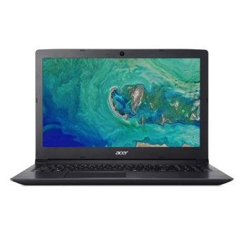 "Лаптоп Acer Aspire 3 A315-54K-36DF (NX.HEEEX.010), двуядрен Kaby Lake Intel Core i3-7020U 2.30 GHz, 15.6"" (39.62 cm) Full HD LCD LED Anti-Glare Display, (HDMI), 4GB DDR4, 256GB SSD, 1x USB 3.0, Linux  image"