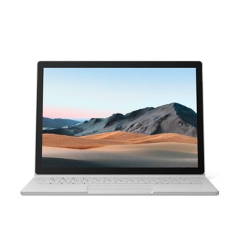 "Хибриден лаптоп Microsoft Surface Book 3 (SMN-00009)(сребрист), четириядрен Ice Lake Intel Core i7-1065G7 1.3/3.9 GHz, 15.0"" (38.10 cm) PixelSense Touchscreen Display, (USB-C), 32GB, 512GB SSD, Windows 10 Home image"