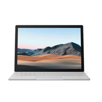"Хибриден лаптоп Microsoft Surface Book 3 (SMN-00009)(сребрист), четириядрен Ice Lake Intel Core i7-1065G7 1.3/3.9 GHz, 15.0"" (38.10 cm) PixelSense Touchscreen Display, (USB-C), 32GB, 512GB SSD, Windows 10 Home image"