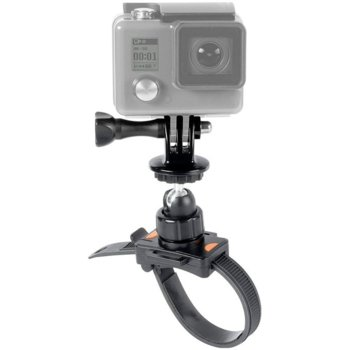 Стойка Speedlink Zip Mount (SL-210002-BK) за GoPro, закрепване с цип със заключващи ремъци, черна image