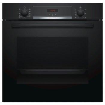 Фурна за вграждане Bosch HBA534EB0, клас A, 10 функции, 71л. общ обем, индикация за остатъчна топлина, черен image