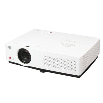 Проектор LG BG650, 3 LCD, XGA (1024 x 768), 5000:1, 4000 lm, вграден Wi-Fi, HDMI, D-Sub, USB, вградена колонка 5W, бял image