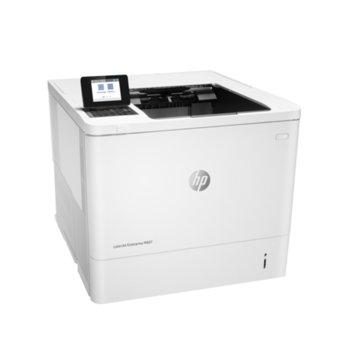 Лазерен принтер HP LaserJet Enterprise M607dn Printer, монохромен, 1200 x 1200 dpi, 52 стр/мин, LAN1000, USB, A4 image