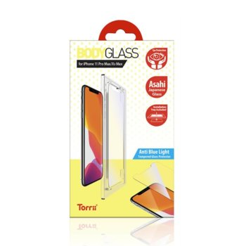 Протектор от закалено стъкло /Tempered Glass/ Torrii BodyGlass 2.5D Anti Blue Light IP1965-BDG-04 за Apple iPhone 11 Pro Max image