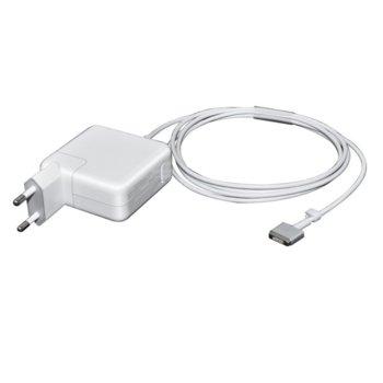 Захранване (заместител) за лаптопи Apple A1436/A1465/A1466/MD760/MD711/MD712/MC223/MD224/MD231/2, 14.85V/3.05A, 45W, MagSafe2 жак image