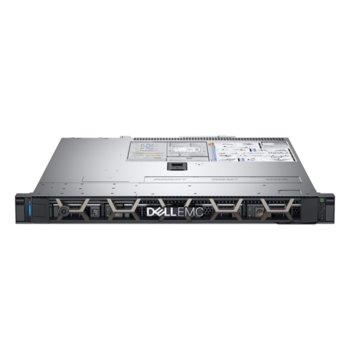 Сървър Dell PowerEdge R340 (#DELL02521), четириядрен Coffee Lake Intel Xeon E-2134 3.5/4.5 GHz, 16GB DDR4 ECC UDIMM, 240GB SSD, 2x 1GbE LOM, 2x USB 3.0, без ОС, 1x 350W PSU image