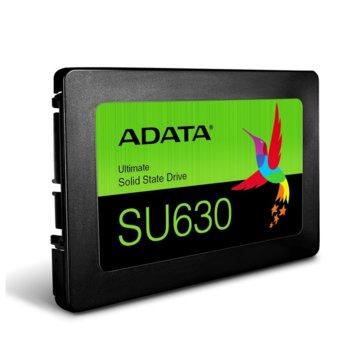 """Памет SSD 240GB Adata SU630, SATA 6 Gb/s, 2.5"""" (6.35cm), скорост на четене 520 MB/s, скорост на запис 450 MB/s image"""
