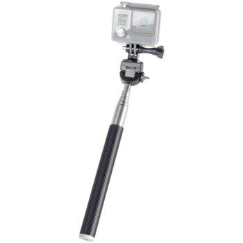 Селфи стик Speedlink SL-210007-BK, монопод за GoPro, телескопична дръжка до 95см, черен image