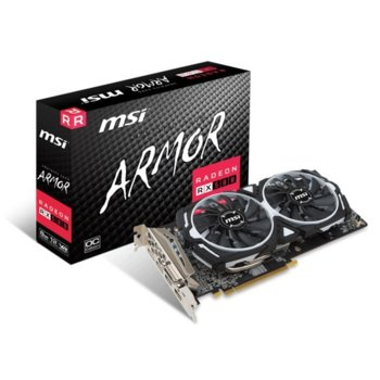 MSI Radeon RX 580 ARMOR 8G OC product