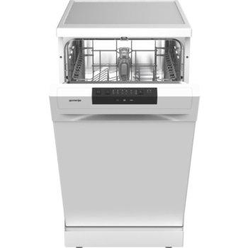 Съдомиялна Gorenje GS52040W, свободностояща, клас E, 9 комплекта, 3 програми, 4 температури, пълен AquaStop, отложен старт, бяла image