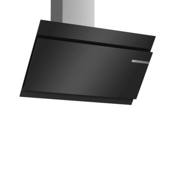 Абсорбатор Bosch DWK98JQ60 SER6, колонен, енергиен клас А+, въздухопоток 593 m3/h, 1 мотор, черен image