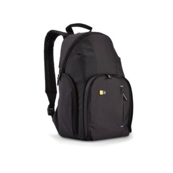 Чанта за фотоапарат Case Logic TBC-411K за SLR фотоапарати, полиестер, черна image