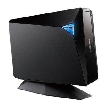 Оптично устройство Asus BW-12D1S-U, Blu-ray записващо устройство, външно, USB 3.0, черно image