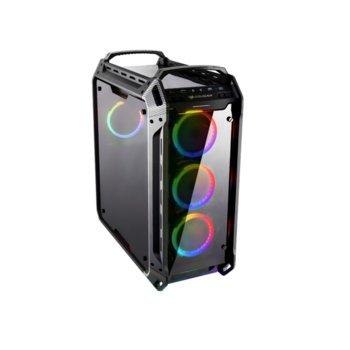 Кутия Cougar Panzer Evo RGB, Mini-ITX, Micro-ATX, ATX, CEB, E-ATX, USB-C 3.1 Gen2, черна, без захранване image