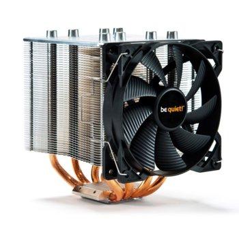 Охлаждане за процесор Be Quiet Shadow Rock 2, съвместимост с Intel LGA 775 / 115x / 1366 / 2011(-3) Square ILM / 2066, AMD 754 / 939 / 940 / AM2(+) / AM3(+) / AM4 / FM1 / FM2(+) image