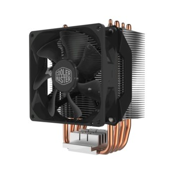 Охлаждане за процесор CoolerMaster HYPER H412R, съвместимост със Intel LGA2066, LGA2011-v3, LGA2011, LGA1151, LGA1155, LGA1156, LGA1366, LGA775, LGA1150 & AMD AM4, AM3+, AM3, AM2+, FM2+, FM2, FM1 image