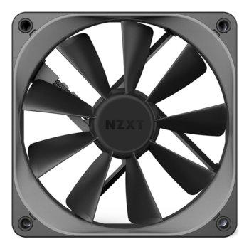 Вентилатор 120mm, NZXT Aer F 120, 4-pin, 1500 rpm, сив image